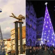 Elevaciones Rama - Árbol de Navidad Vigo